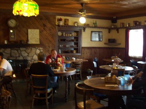 Rock Springs Cafe dining area