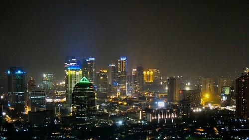 Image result for Jakarta night skyline.