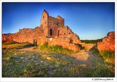 old castle (Mariusz Petelicki) Tags: island hdr bornholm 3xp wyspa hammershuscastle mariuszpetelicki zamekhammershus