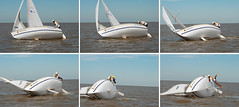 Oooops (manilo) Tags: water sailboat agua accidente montevideo broach velero tumbada manilo manlioferrari