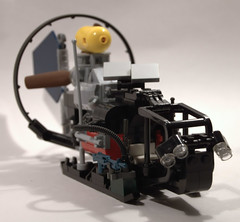 Apoc snowmobile (Catsy [CC]) Tags: lego moc catsy brickarms postapoc flickr:user=catsy lego:scale=minifig lego:theme=apoc