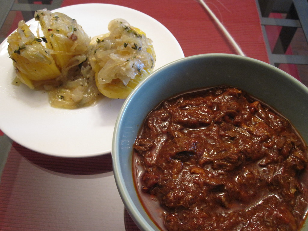 Beef Goulash & Bakers Potatoes