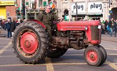 Birmingham St Patricks Day Parade 2010 133 (Martin O'Connell) Tags: uk england irish tractor birmingham parade stpatrick stpatricksday midlands farmmachinery digbeth vintagetractor