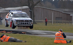 14032010 (Day 73)  Lancia Delta at Race Retro, Stoneleigh Park (dutts303) Tags: road park tarmac race project jump ramp photographer rally wheels photographers delta retro 365 petrol airborne tyres repsol lancia motorsport ralley stoneleigh project365 stoneleighpark raceretro