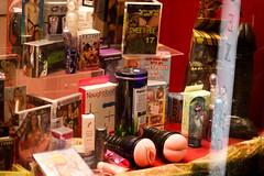 Assorted toys (redspiderfish) Tags: travel holiday netherlands amsterdam redlightdistrict 18sx amsterdamday2
