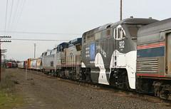 three units (Slideshow Bruce) Tags: railroad oregon train 14 amtrak locomotive springfield starlight