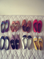 lovely shoes (miss sundress) Tags: pink red white black yellow shoes colours purple bow colourfull brogues