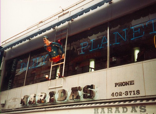 Daily Planet Café in Harajuku, Tokyo from the '80s