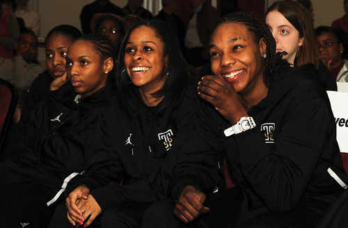Temple's Women's Basketball NCAA Selection Party