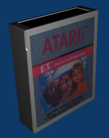 ET Cartridge 3D Model with correctly applied graphic