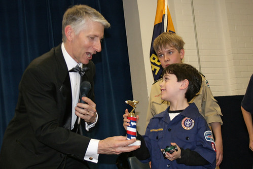 pinewood derby: sweet sweet trophy