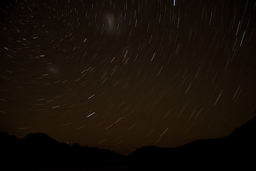 Tidal River star trails (17 minutes)