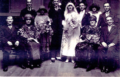 Image titled Huddleston Family Wedding, Trades House, 1923.