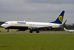 EI-CSX - 32778 - Ryanair - Boeing 737-8AS - Luton - 080716 - Steven Gray - IMG_0774
