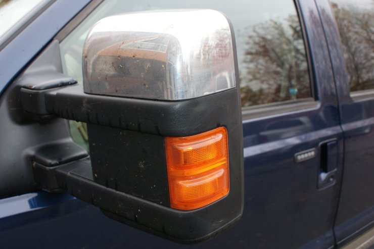 F250 mirror before