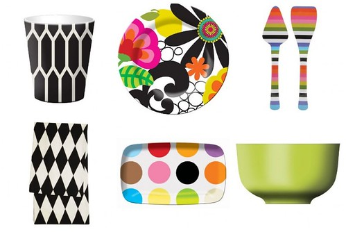 French Bull Melamine Collage
