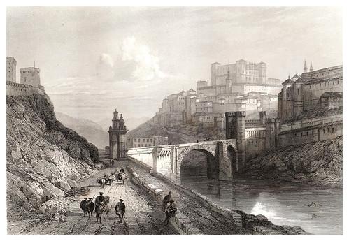 027-Toledo-Voyage pittoresque en Espagne et en Portugal 1852- Emile Bégin