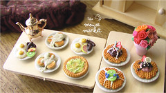 Rise and Shine Buffet (1/12 scale) (theMouseMarket.com) Tags: food breakfast polymerclay dollhouse fakefood miniaturefood oneinchscale dollhouseminiatures 112scale