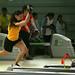 Clara Juliana Guerrero Campeona mundial de Bolos entrenando