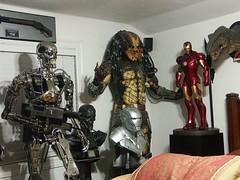 Sideshow Terminator Iron Man Predator (FelMarWETA) Tags: man statue iron mark iii 11 replica stan ii 12 terminator predator winston prop sideshow t2 maquette t800 endoskeleton