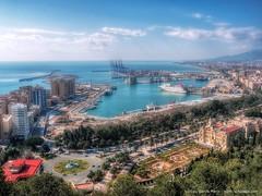 Destino: Mlaga - Destination: Malaga (Spain) (Lui G. Marn - www.luimalaga.com) Tags: espaa spain ciudad andalucia costadelsol perspectiva andalusia malaga vacaciones semanasanta