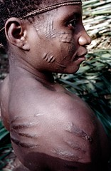 Bayaka pygmies (O.Blaise) Tags: africa unicef ecology tattoo forest aka rainforest culture jungle westafrica congo tribe ethnic habitat genetic slavery primary anthropology cultural slave baka biodiversity pygmy deforestation indigenouspeople pygmies bantu bayaka centralafricanrepublic lobaye afriquedelouest slaev centrafrica pygmoid ubangianlanguages