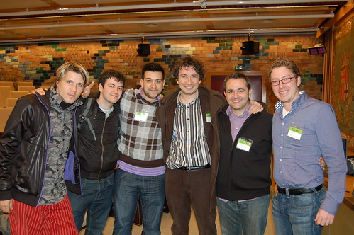 Mini-Seedcamp Barcelona - TeamBox, Uvinum y OffsetOptions