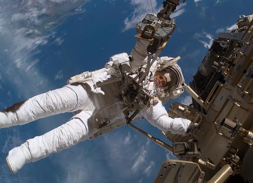 Un paseo espacial