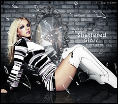 Shattered Glass - Britney Spears (Mr. Carls) Tags: b light music eye broken glass by dark mirror design jean mr boots you spears ground carlos everybody s pop best thank h sing singer shattered britney henrique carls 2010