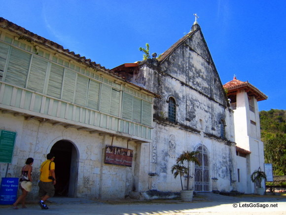 Church of Patrocinio de Maria in Boljoon