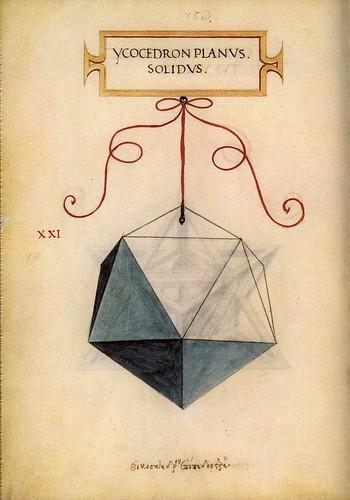 005-Icosaedro-De Divina Proportione 1509-Luca Pacioli