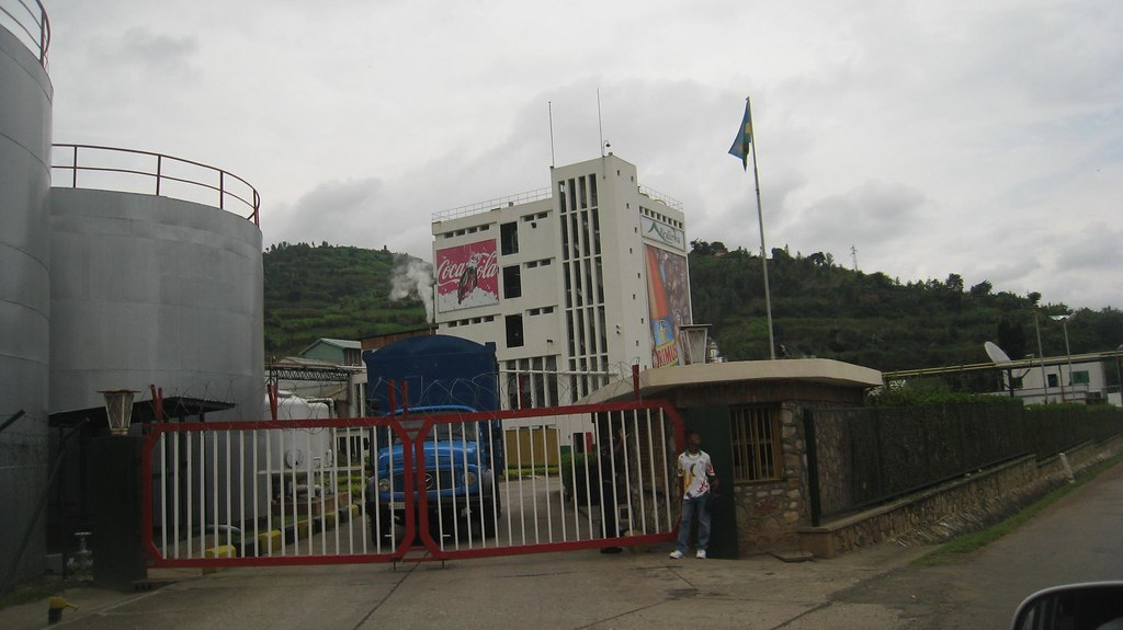 Bralirwa, the only brewery in Rwanda, manufactures local beers including Primus and Mutzig, plus a variety of Coca-Cola products.