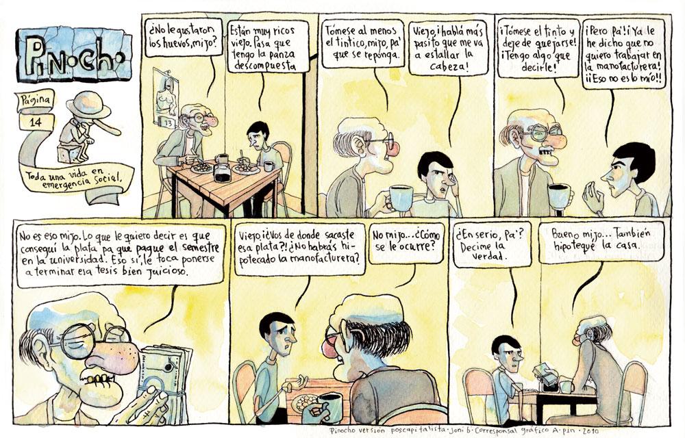 PÁGINA 14: TODA UNA VIDA EN EMERGENCIA SOCIAL