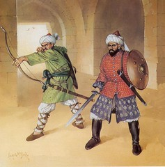 Mamluk Warriors (cool-art) Tags: military muslim iraq medieval arab syria warrior wars mongol crusades invasions mamluks mamulk