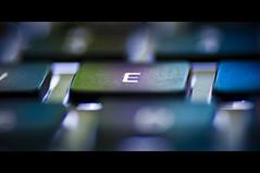 E for Education (michaeljosh) Tags: macro keyboard bokeh tuaw tamron90mmf28 project365 macbookpro nikond90 ekey michaeljosh eforeducation educationchanginglives