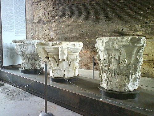 Marble Columns Bases