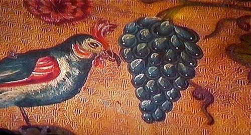lRudyard Kipling's   Bateman's, dining room decoration, Cordoba leather
