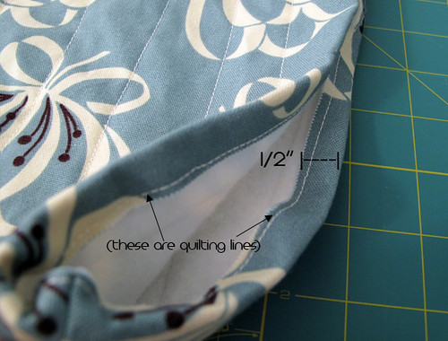 Laptop Sleeve Tutorial 8