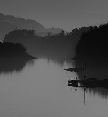 Are they catching anyting (Terje Kolbeinsen Photography) Tags: bw fog landscape cy2 challengeyouwinner thepinnaclehof kanchenjungachallengewinner thepinnacleblog tphofweek60