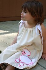 Poodle Skirt Style Pillowcase Dress