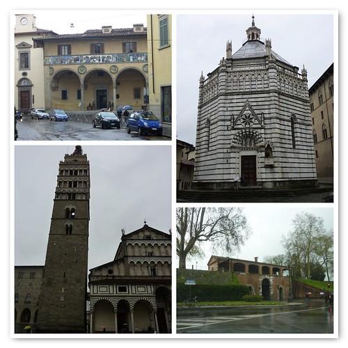 La Toscana: Pistoia y Lucca