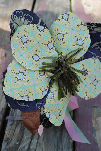 handmade paper flower from CA