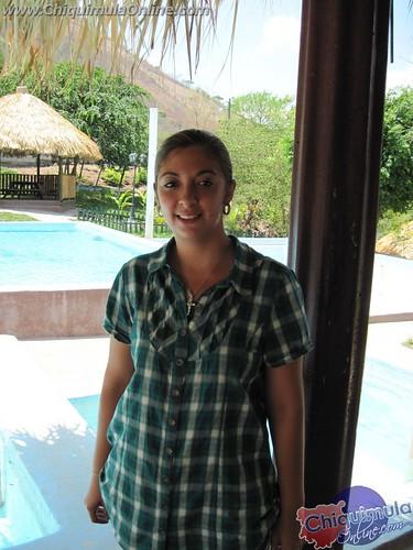 Ing. Alejandra Vidal, Encargada de supervisar la obra