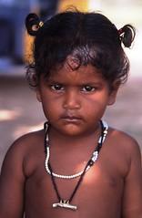 Girl with Necklace (Peter Schnurman) Tags: india girl village tamilnadu kanchipuram developingworld thirldworld kancheepurim