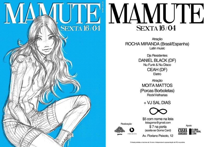 MAMUTE Sexta 16/04