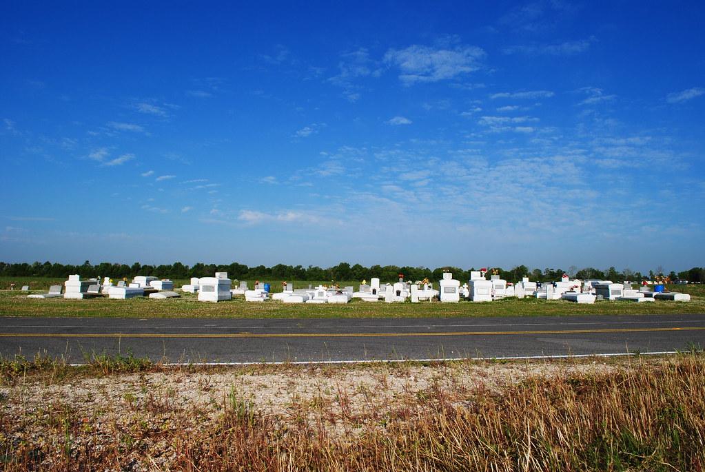 small cemetery