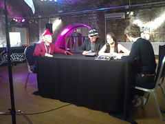 Matt Edmondson chats to N-Dubz on on Ericsson's Pocket TV (Pocket TV) Tags: sonyericsson pockettv ndubz mattedmondson