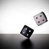 Roll the Dice (Khaled A.K) Tags: red white dice black studio flash roll sa jeddah saudiarabia softbox khaled ksa saudia kashkari