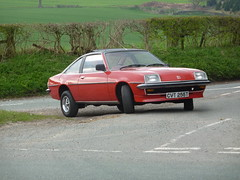 Vauxhall Cavalier Coupe (Berresfordsmotors) Tags: b roof red classic car t cool general wheels vinyl retro motors trent 70s cavalier 1978 1970s 1979 stoke coupe manta fenton opel gls vauxhall on cvt 255 rostyle byatts cvt255t