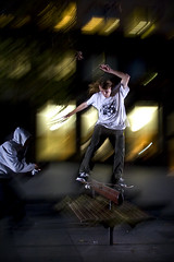 Dean Palmer - switch lip to straight (Kris Wolfgang) Tags: night canon death skateboarding skateboard sekonic deathskateboards 400d nikonsb28 580exii